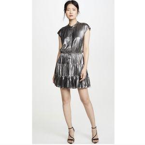 Rebecca minkoff ollie dress gunmetal
